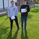 Regan and Finian, top performers